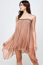 KAII Metal Fringed Mini Dress - 4