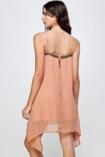 KAII Metal Fringed Mini Dress - 5