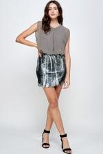 Sequins Bottom Short Mini Dress - 13