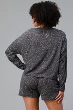 Ditsy Floral Short Loungewear Set - 2