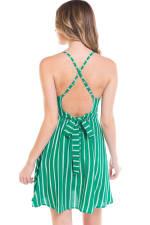 Striped A-Line Cami Dress - 2