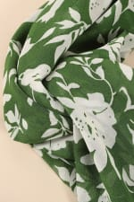 Floral Print Twisted Headband - 2
