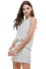 Loungewear Set Polka Dots Pajama - 4