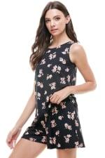 Loungewear Set Floral Print Pajama - 5