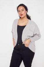 Westport Cocoon Cardigan Sweater - Plus - 12