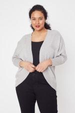 Westport Cocoon Cardigan Sweater - Plus - 11
