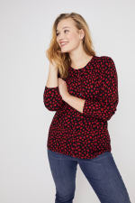 You Have My Heart Button-Up Cardigan Sweater - Plus - 7