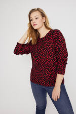 You Have My Heart Button-Up Cardigan Sweater - Plus - 6