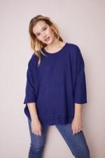 Westport Curved Hem Tunic Sweater  - Plus - 4