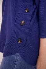 Westport Curved Hem Tunic Sweater  - Plus - 10