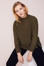 Westport Mixed Stitch Pullover Sweater - Plus - 18