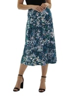 A Line Pull On Skirt - Petite - 1