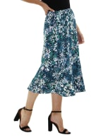 A Line Pull On Skirt - Petite - 3