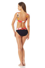 Anne Cole Center Front Beaded Bikini Swimsuit Top - Multi - Back