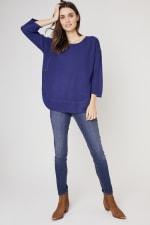 Westport Curved Hem Tunic Sweater - 4