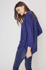 Westport Curved Hem Tunic Sweater - 2