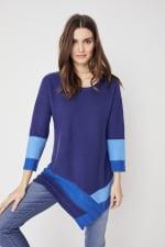 Westport Colorblock Asymmetrical Sweater - 7