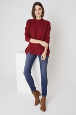 Westport Mixed Stitch Pullover Sweater - 3