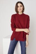 Westport Mixed Stitch Pullover Sweater - 6