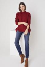Westport Mixed Stitch Pullover Sweater - 4