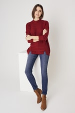 Westport Mixed Stitch Pullover Sweater - 5