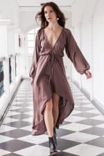 Linda V-Neck Dress - Plus - 3