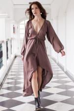 Linda V-Neck Dress - 4