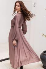 Linda V-Neck Dress - Plus - 4