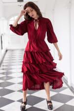 Wild West Midi Dress - 4