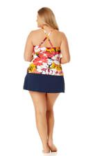 Anne Cole Rock Classic Swim Skirt - Plus - 5