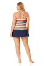 Anne Cole Rock Classic Swim Skirt - Plus - 3