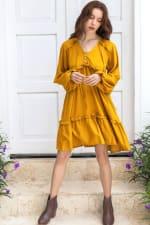 Texas Rose Boho Dress - 3