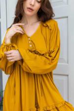 Texas Rose Boho Dress - Plus - 5