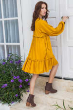 Texas Rose Boho Dress - Plus - 4