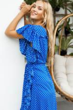 Carmen Wrap Maxi Dress - Plus - 3