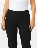 Roz & Ali Secret Agent Pull On Tummy Control Pants with L Pockets - Petite - 4