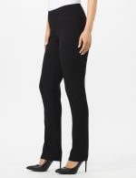 Roz & Ali Secret Agent Pull On Tummy Control Pants with L Pockets - Petite - 3