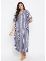 Button Kaftan Dress for Women - Plus - 1