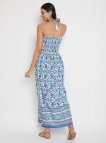 Floral Tube Dress for Women - 2