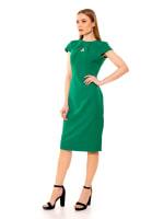Bella Cap Sleeve Keyhole Sheath Dress - 6