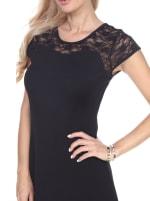 Pelagia Short Sleeve Lace Dress - 3