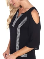 Marybeth' Embroidered Dress - 11
