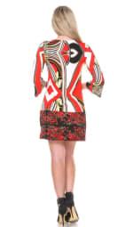 Madelyn Bell Sleeve V-Neckline Dress - 2