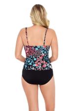 Hillside V-Neck  Side Shirred Swimsuit - 2