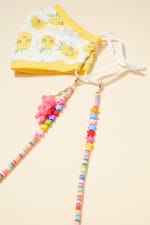 Star Rubber Beads Teddy Charm Lanyard - 6