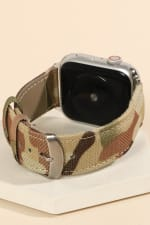Camouflage Print iWatch Band - 2