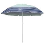 Caribbean Joe 6 ft. Beach Umbrella with UV - 8