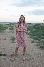 Luna Paisley Hanky Hem Dress - 3