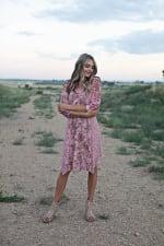 Luna Paisley Hanky Hem Dress - 4