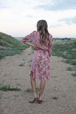Luna Paisley Hanky Hem Dress - 2